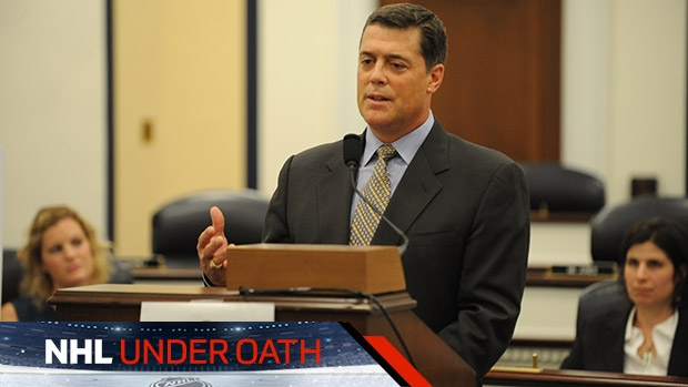 NHL Under Oath - Pat Lafontaine