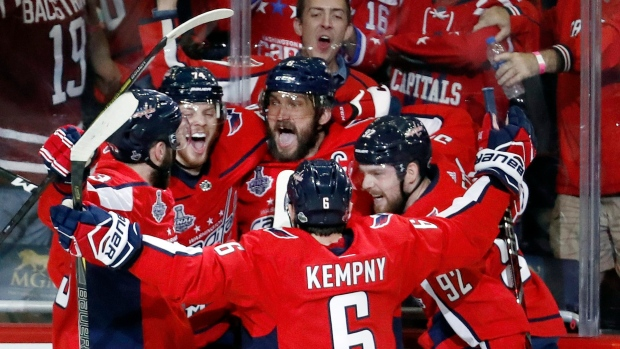 Ovechkin wills Capitals over Golden Knights to take series lead - TSN.ca 74d2b9dde33
