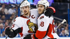 Erik Karlsson and Mike Hoffman