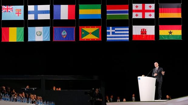qataris considering a 48 team option for 2022 world cup tsn ca