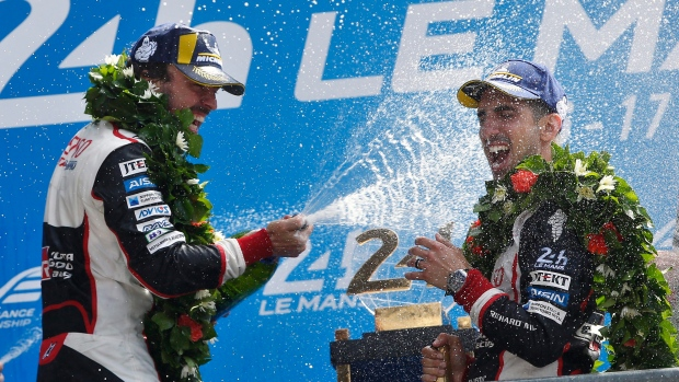 Alonso excited for F1 return after historic Le Mans victory