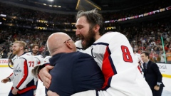 Alex Ovechkin and Barry Trotz
