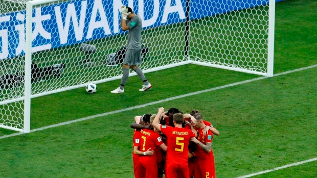 World Cup match report Belgium v Tunisia 23 June 2018