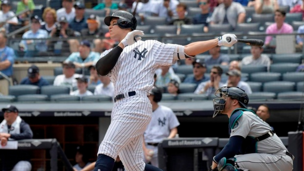 Judge, Andujar HR, Yankees top Mariners 4-3 for 3-game sweep Article Image 0