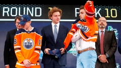 Edmonton Oilers select defenceman Evan Bouchard 10th overall in NHL draft Article Image 0
