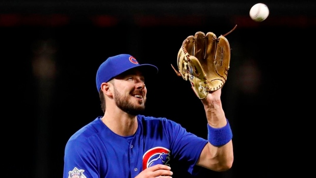 Cubs' Bryant sits 2nd straight day with sore shoulder Article Image 0