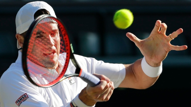 Isner ousted in Round 2 of ASB Classic