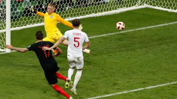 4be66606b Mandzukic, Croatia defeat England in extra time to reach Final - TSN.ca