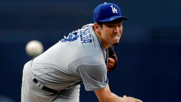 Maeda stymies Padres as Dodgers win 4-2, move closer in West Article Image 0