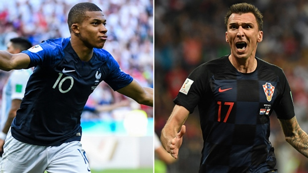 cb264ed148f6 Mbappe, France to face Modric, Croatia for World Cup title on TSN ...