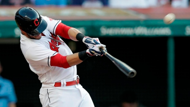 Indians C Yan Gomes finds out he's an All-Star while batting Article Image 0