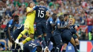 World Cup winner France tops FIFA rankings