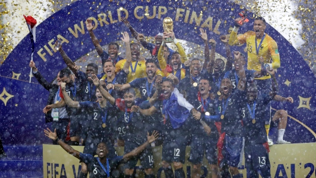 Twenty years after their first World Cup title, France win it once again - TSN.ca