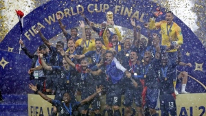 Twenty years after their first World Cup title, France win it once again
