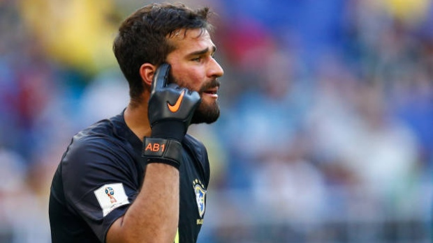 Liverpool make huge bid for Alisson