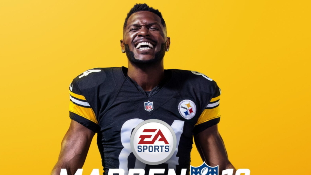 Steelers All Pro Brown Is Madden Cover Guy Tsn Ca