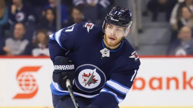 Winnipeg Jets' forward Adam Lowry (undisclosed) leaves game early ...