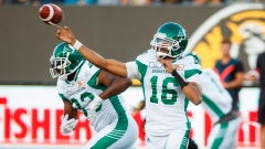 Brandon Bridge settles in to lead Roughriders over Tiger-Cats Article Image 0
