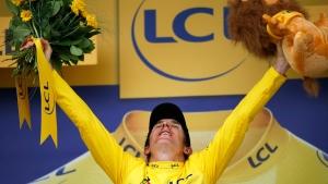 Thomas on verge of winning Tour de France