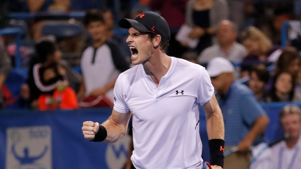 Andy Murray tests hip, rallies to edge Mackenzie McDonald in Washington