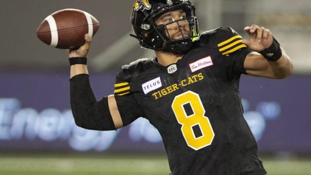 Masoli, Ticats focus on execution to get offence back on track against Alouettes Article Image 0