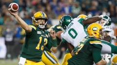 Mike Reilly leads Eskimos to third win in a row, 26-19 over Roughriders Article Image 0