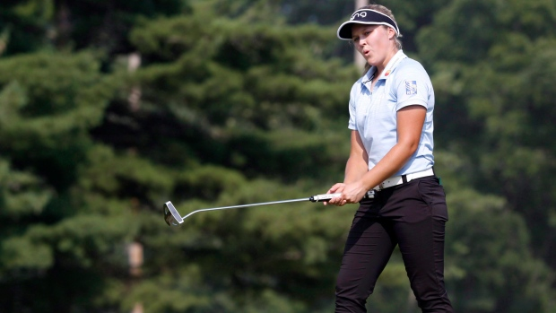 Canada's Brooke Henderson has hole-in-one at British Women's Open