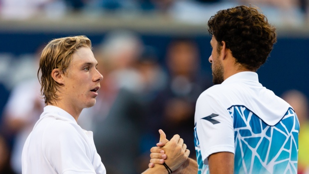Denis Shapovalov and Robin Haase