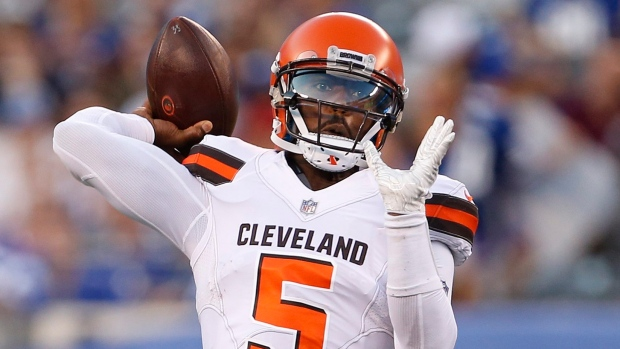 c87dfd4fc Browns sticking with plan to start Taylor over Mayfield - TSN.ca