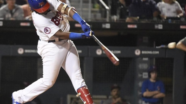 Blue Jays prospect Guerrero Jr. hits home run for fourth consecutive game Article Image 0