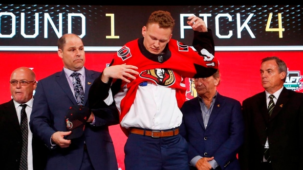 Senators sign forward Brady Tkachuk to three-year, entry-level contract Article Image 0