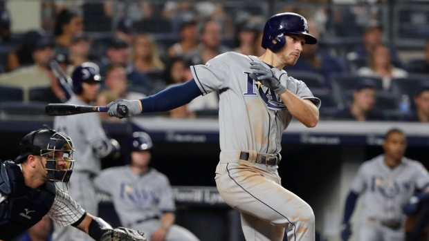 11f280ebfefbc5 Lowe sparks Rays to win over Blue Jays in spring training - TSN.ca