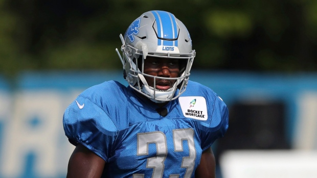 Johnson was raised for opportunity he has with Lions. The Canadian Press. Kerryon  Johnson 84ab9b7b5