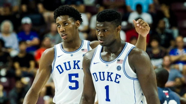 Barrett pours in 35 points as Duke cruises past U of T - TSN.ca b57636f23