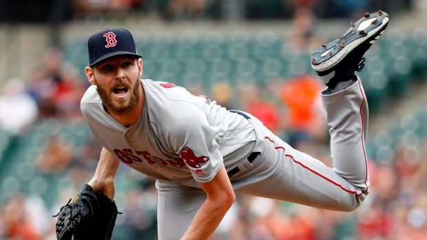 Chris Sale, Red Sox are nearing agreement on a contract extension