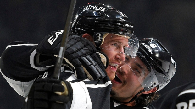 Jeff Carter and Drew Doughty