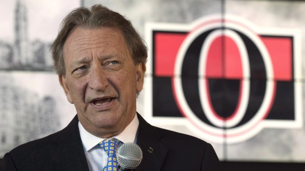 Senators owner Eugene Melnyk breaks silence, addresses team's future in video Article Image 0