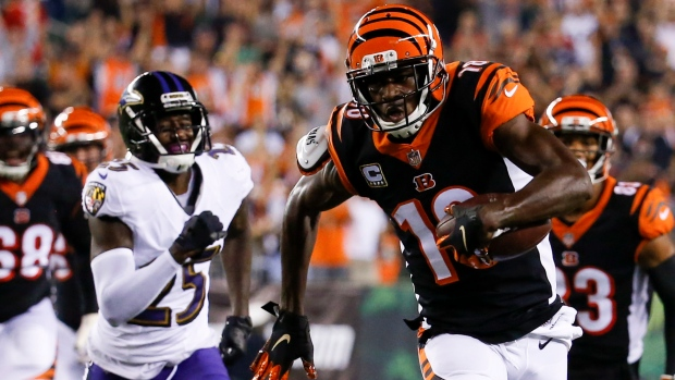 A.J. Green will make season debut Sunday vs. Ravens