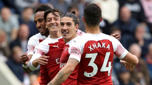 dc79c570a56 Arsenal edges Toon for second away win in a row - TSN.ca
