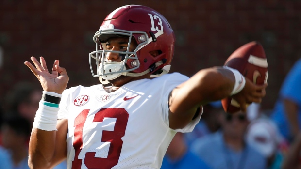 meet 159e6 fc10a No. 1 Alabama scores 62 in rout of Ole Miss - TSN.ca