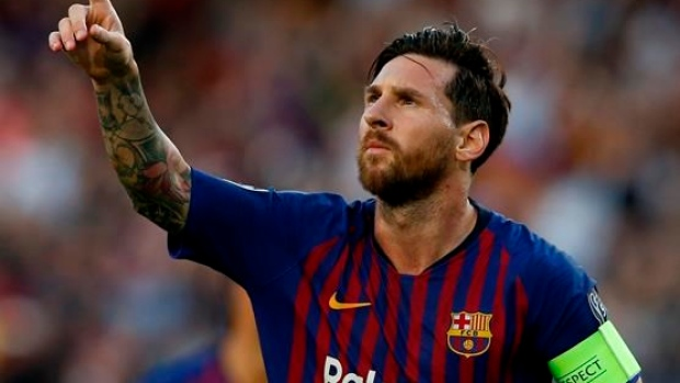 Messi helps Barca open Champions League with win