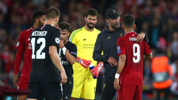 Liverpool Player Ratings: Liverpool vs PSG