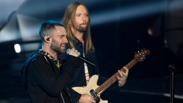 Maroon 5 reportedly will headline the Super Bowl halftime show