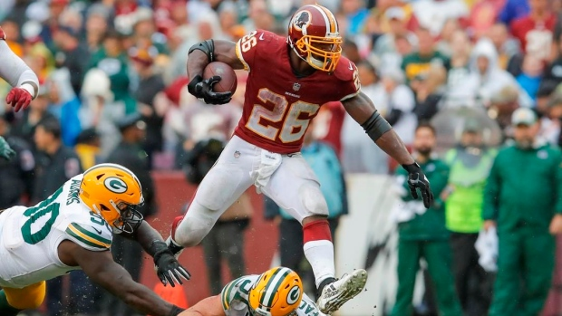 Adrian Peterson Trent Williams Absence Impacting Us
