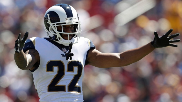 Rams trade cornerback Marcus Peters to Ravens