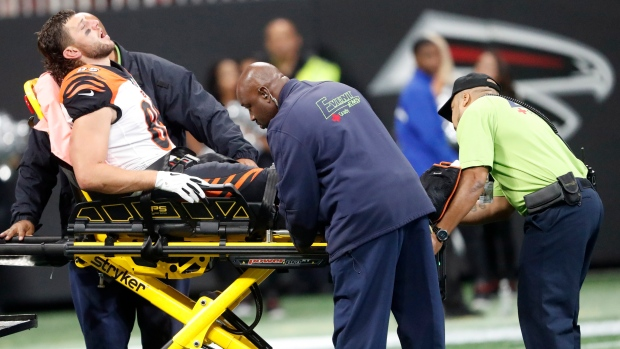 Bengals TE Eifert suffers gruesome leg injury