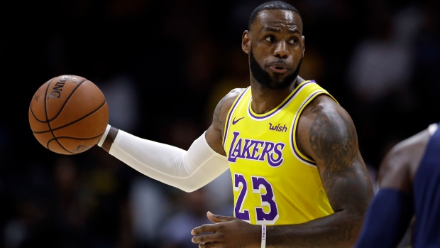 3eb3e2b1e4bd LeBron in LA  Superstar begins next chapter with Lakers - TSN.ca