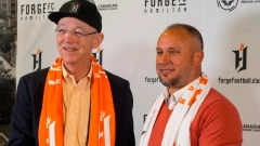 Forge FC Bobby Smyrniotis named Forge FC technical director and head coach Article Image 0