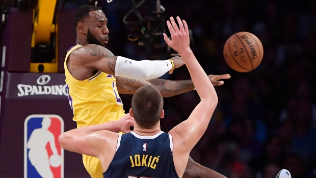 Lakers fall short in LeBron's home