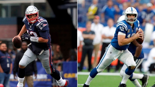 the latest 3bb34 58831 Luck, Colts look to flip fortunes vs. Patriots on TSN - TSN.ca